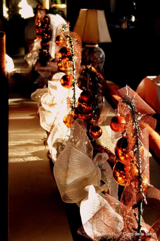 Adornos Comedor Hotel Vista Real Guatemala Navidades 2103
