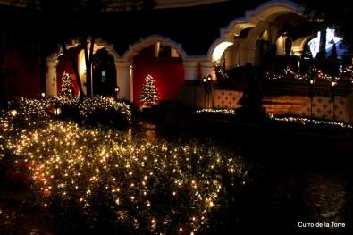Jardín Interior Hotel Vista Real Guatemala Navidades 2103
