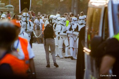 Desfile en el Parque del Retiro - Star Wars VI Training Day