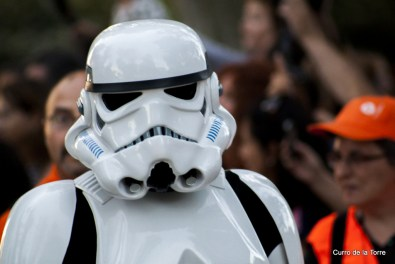 Soldado Imperial en el Parque del Retiro - Star Wars VI Training Day