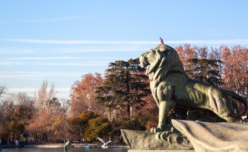 El Rey y su Consejera - Paseando por el Parque del Retiro