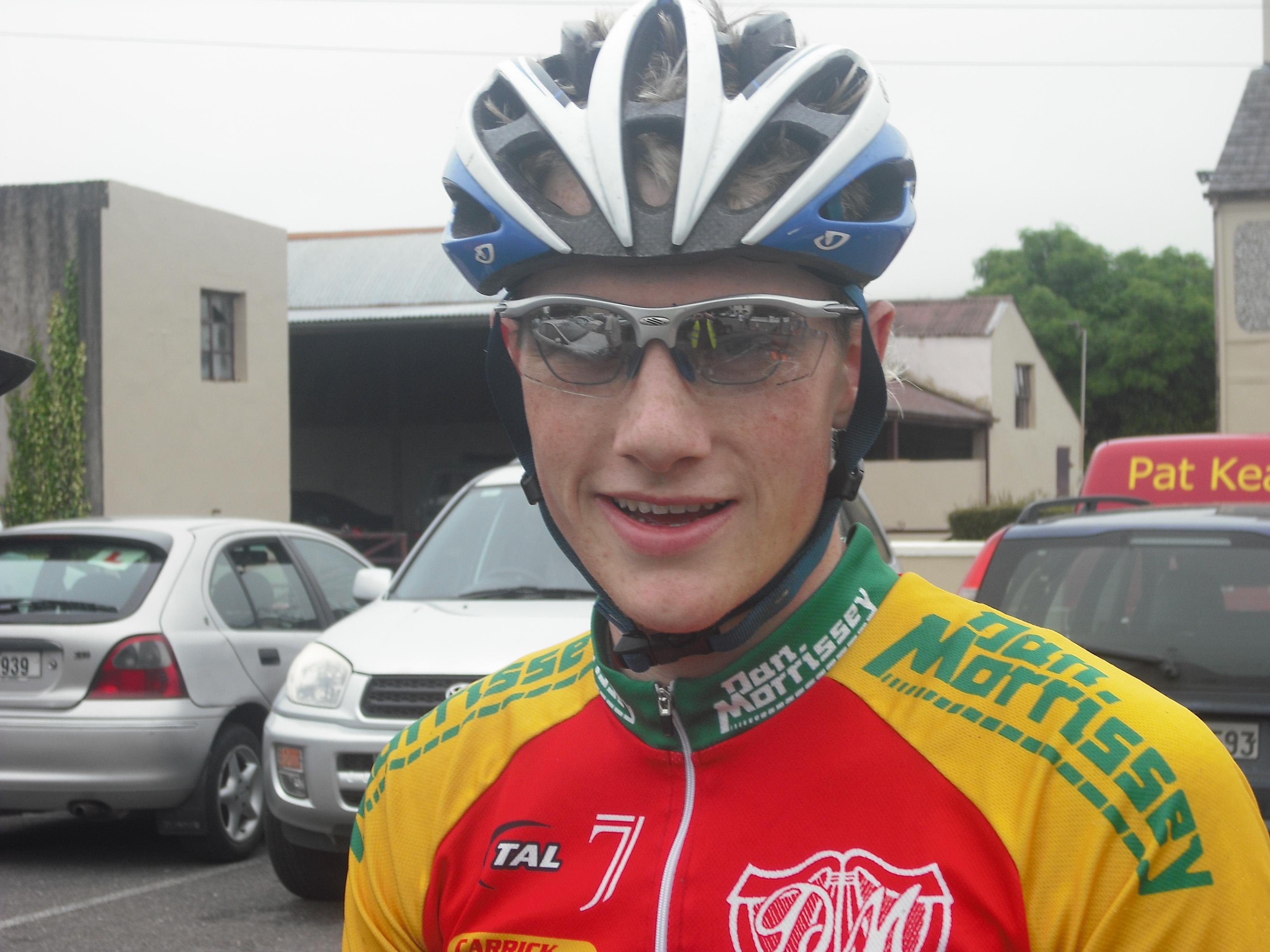 Sam Bennett wins 2009 John Drumm.