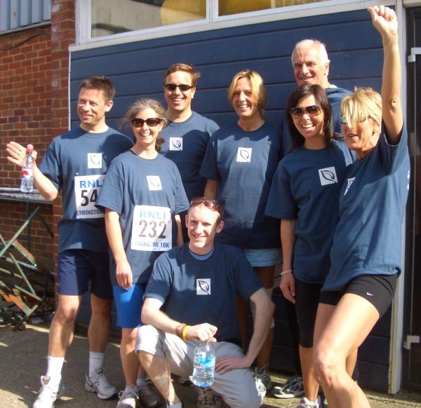 The Balmer Lawn Health club team