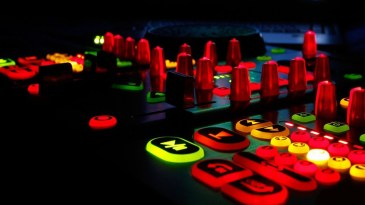 Curry Events Illuminated controller