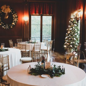 Aldrich Mansion - Holiday Wedding