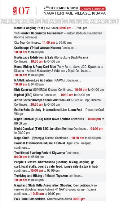 Hornbill Festival Dec 1-10, 2018 – Nagaland | Currylines – Caroline's