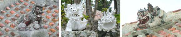 Taketomi, 竹富島, シーサー, shisa, clay figure, Tonfigur, Yaeyama-Inseln, 八重山諸島, Ryūkyū, 琉球, Okinawa, 沖縄県, Japan