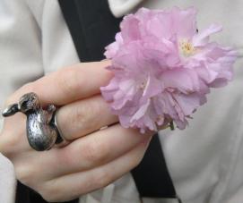 Happy Easter, Frohe Ostern, sakura, 桜, hanami, 花見, Mehringdamm, Berlin, ベルリーン, ドイツ, Germany, Deutschland