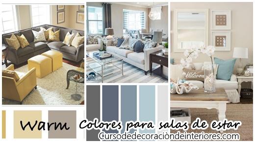 28 Combinaciones De Color Para Una Sala Moderna Y Con