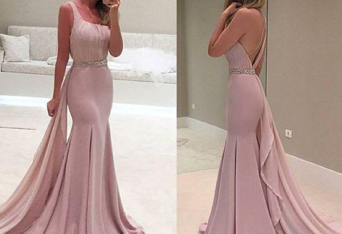 Vestidos Sofisticados Y Elegantes Con Espalda Descubierta 1 Curso