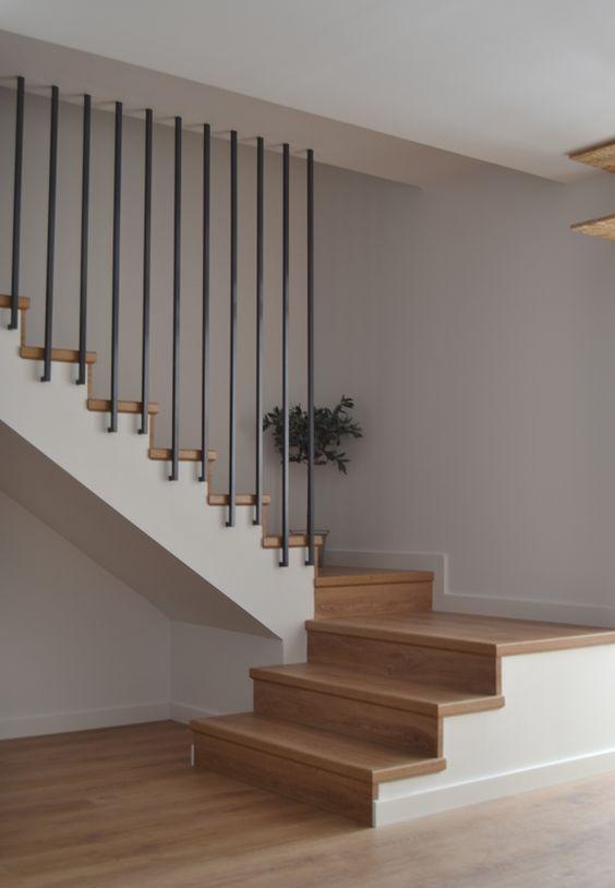Casas Dos Escaleras Para De De Disenos Pisos