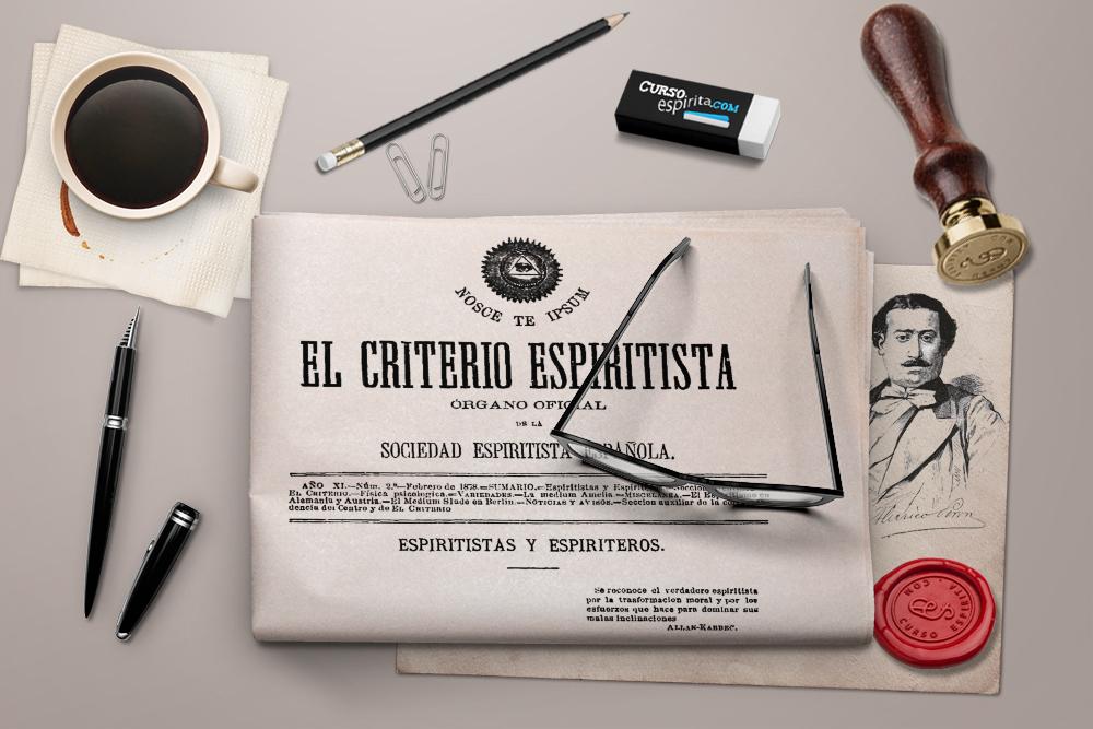 Imagen de la Revista El Criterio Espiritista