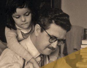 Herculano Pires y su hija