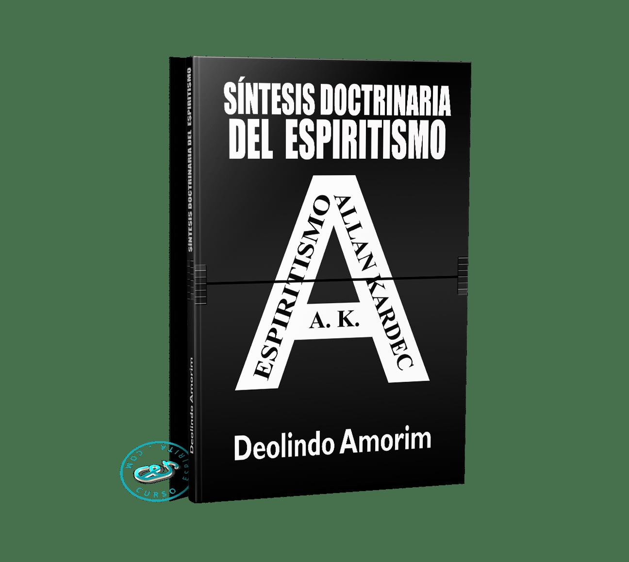 Portada Síntesis Doctrinaria del Espiritismo por Deolindo Amorim