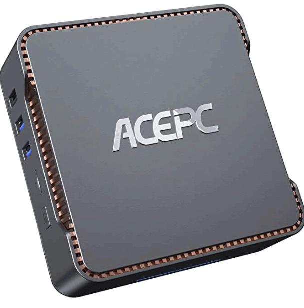 Mini PC,Intel Celeron N3350,4GB DDR3+64GB eMMC