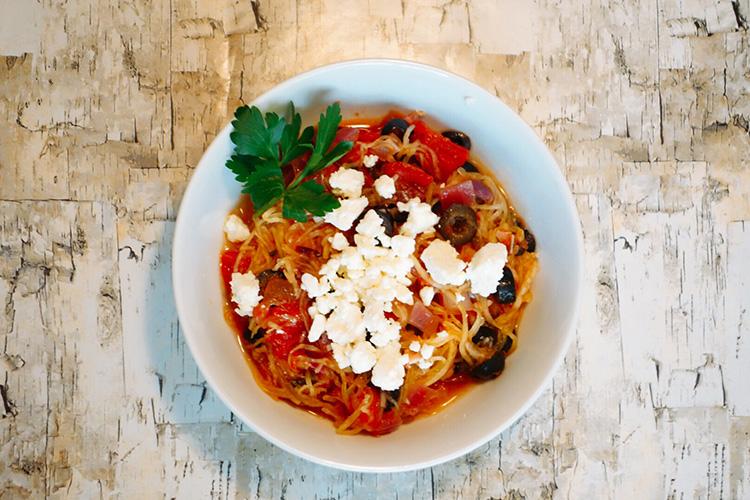 A tasty pasta alternative bursting with flavor!