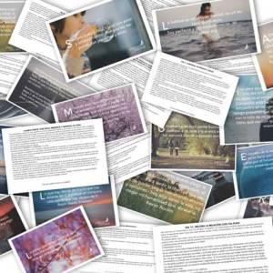 Tarjetas de 21 días con afirmaciones para transformar tu vida - Hábitos Exitosos