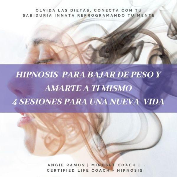 Hipnosis para bajar de peso - angie Ramos