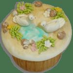 Cupcake para Primera Comunión por Rosa Quintero