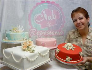 Rosa Quintero - Curso Decoracion Tortas Club de Reposteria