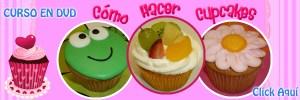 Curso en DVD Cómo Hacer Cupcakes por Rosa Quintero