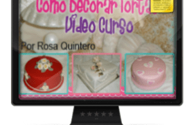 Imagen Curso Como Decorar Tortas por Rosa Quintero