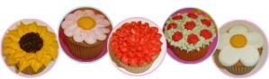 Como Decorar Cupcakes como Flores por Rosa Quintero