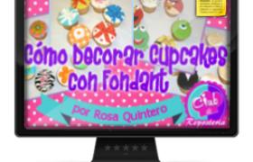 Imagen Curso Como Decorar Cupcakes con Fondant - Rosa Quintero