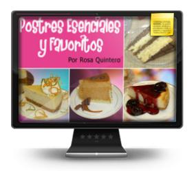Imagen Curso Postres Esenciales por Rosa Quintero