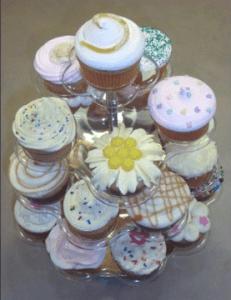 Muestra de Cupcakes Decorados curso por Rosa Quintero