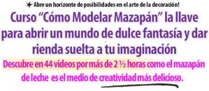 Titulo Carta Ventas Curso Como Modelar Mazapan por Alexandra de Serrano