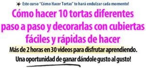Titular Curso Como Hacer Tortas por Rosa Quintero