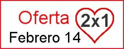 Oferta 2x1 por San Valentin - Club de Reposteria