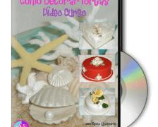 Curso Decoracion Tortas en DVD por Rosa Quintero