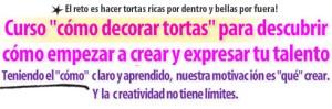 Titulo Carta Ventas Curso Como Decorar Tortas por Rosa Quintero