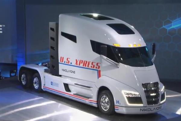 Los camiones eléctricos denominados Nikola One
