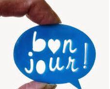 Saludos en francés