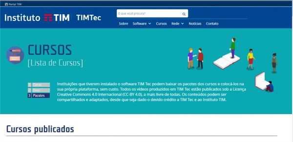 Cursos gratuitos online Tim TEC 2
