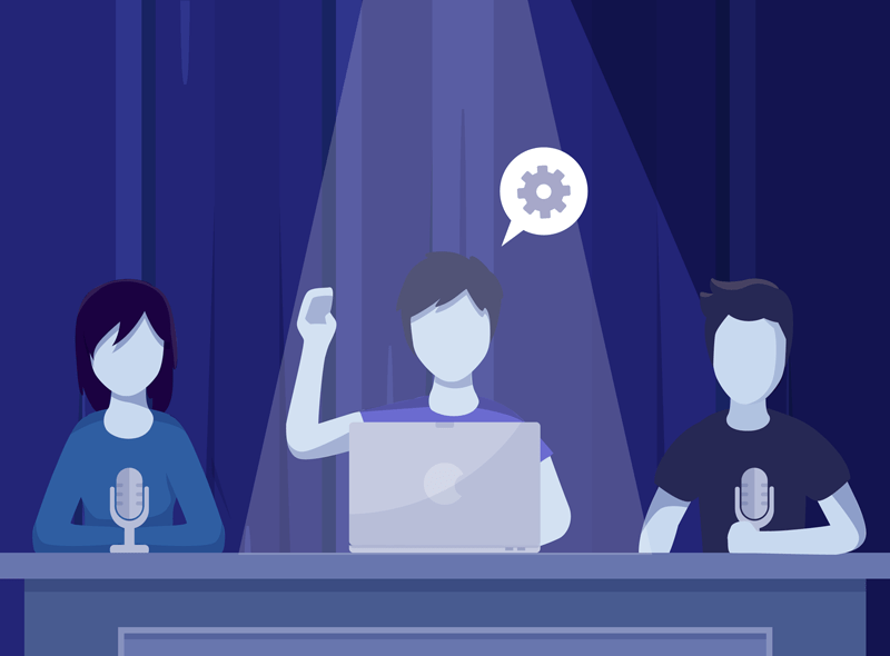 conference illustration 02