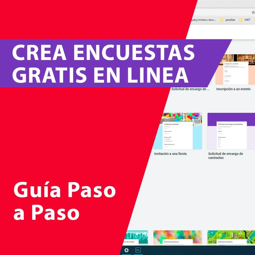 Crea encuestras Gratis en Linea - Portada