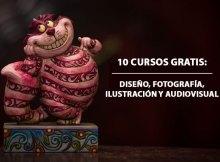 10 cursos gratis de diseño, ilustración, fotografía y audiovisual