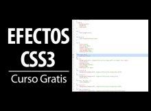 curso gratis efectos css3