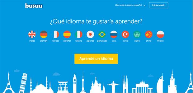aprender idiomas con Bussu