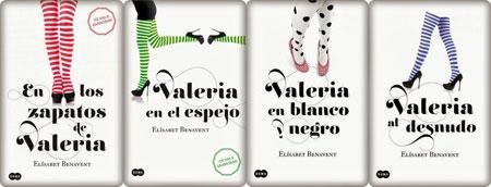 """Saga de libros """"Valeria"""""""
