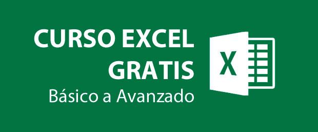 curso de Excel gratis y online de todos los niveles