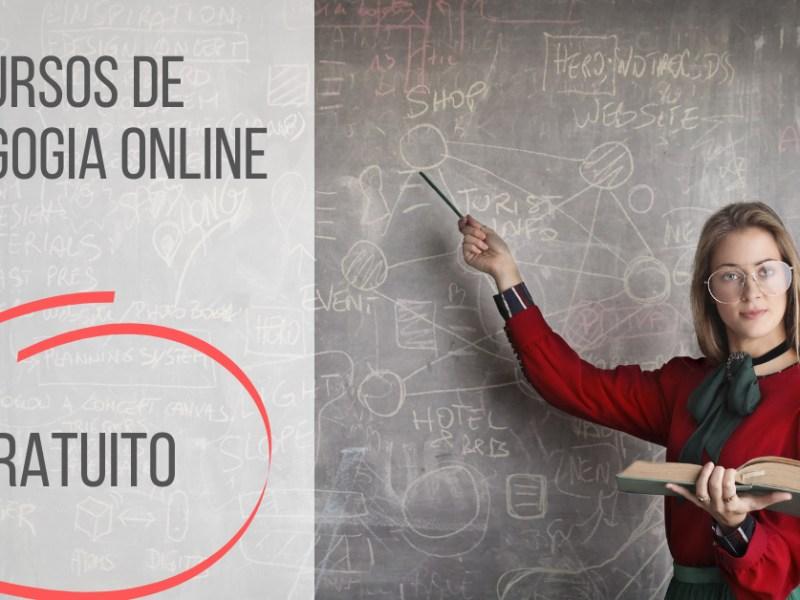 cursos de pedagogia gratuitos e online