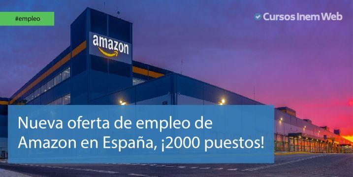 Trabajos Amazon España