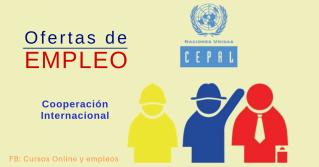 CEPAL ofertas de empleo