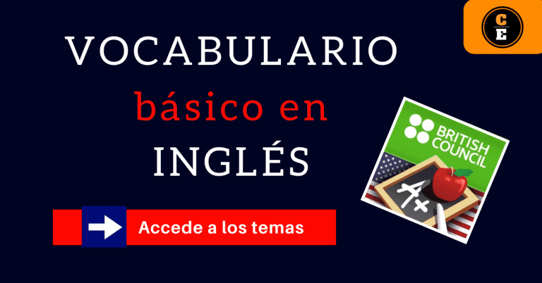 vocabulario básico de palabras en inglés