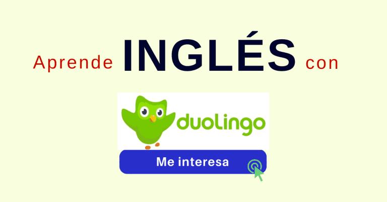 Duolingo aprender ingles gratis